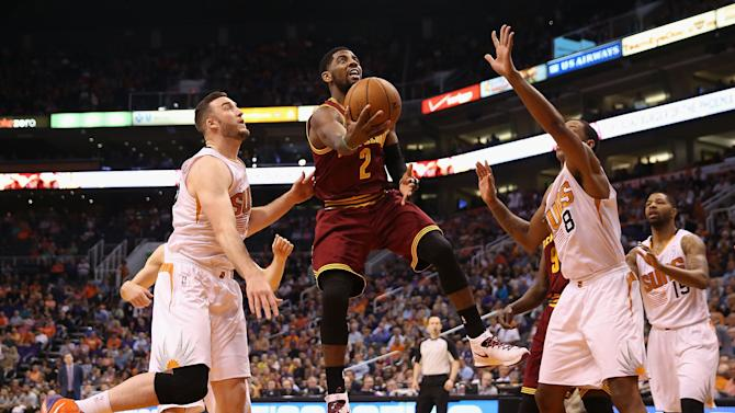 Cavs spoil Bledsoe return by beating Suns 110-101