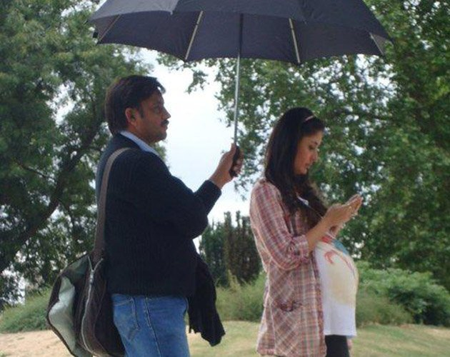 Look whom we spotted on Heroine sets