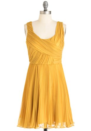 Katniss yellow dress