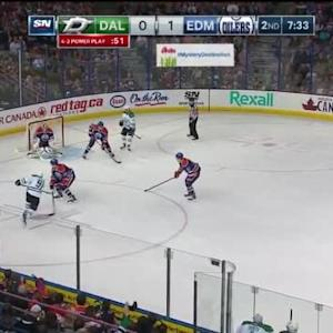 Richard Bachman Save on Tyler Seguin (12:27/2nd)
