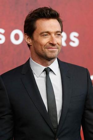 Hugh Jackman attends the 'Prisoners' premiere at Sony Centre on September 26, 2013 in Berlin, Germany -- Getty Images