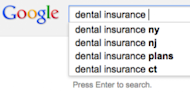 Why You Must Focus on Long Tail Keywords image Dental Insurance Keywords 300x147