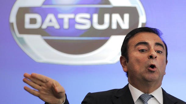 Datsun Nissan Carlos Ghosn