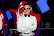 South Korean rapper Psy, seen here on September 22, pledged to perform his signature horse-riding dance &quot;half-naked&quot; somewhere in his home city Seoul if his global hit &quot;Gangnam Style&quot; tops the US Billboard chart