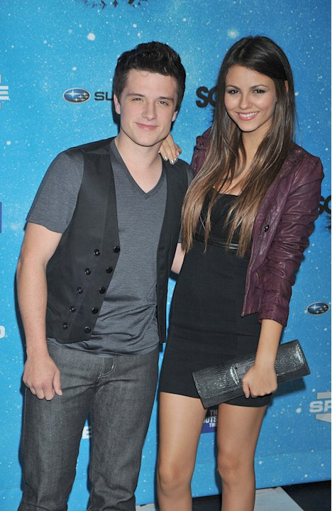 Spike TV's Scream Awards 2009 Josh Hutcherson Victoria Justice
