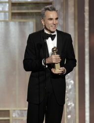 Daniel Day-Lewis is sweeping up awards for his performance in Lincoln