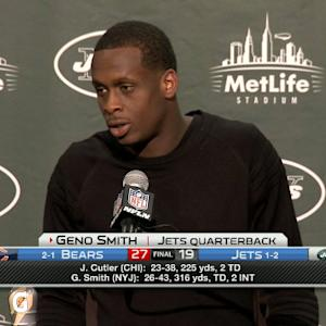 New York Jets quarterback Geno Smith: 'We definitely put ourselves in the hole'