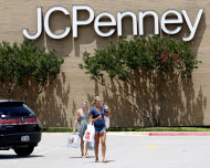 <p>               FILE - Shoppers walk in a parking lot outside of a JC Penney story in Plano, Texas,  in this June 19, 2012 file photo. J.C. Penney Co. is reporting a bigger-than-expected loss and plummeting sales, as its customers continue to be turned off by a new pricing plan that gets rid of hundreds of sales in favor of every day lower prices.  (AP Photo/LM Otero, File)
