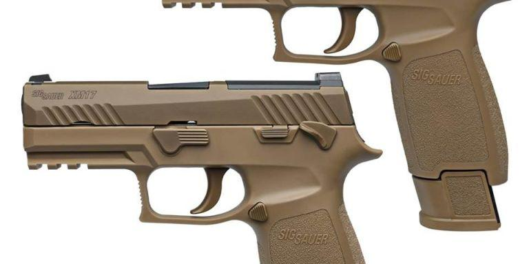 The Sig P320 is the U.S. Army's New Sidearm
