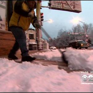 Winter Storm Blankets Chicago Area In Heavy Snow