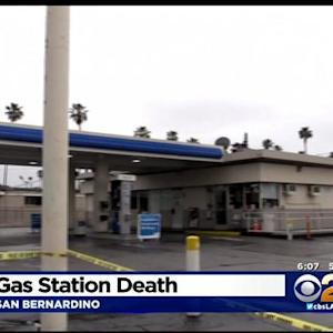 Man Dead, Woman Wounded Following Fight At Arco Gas Station At San Bernardino