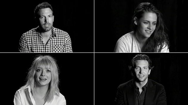 Kristen Stewart & Stars Reveal Movie Crushes