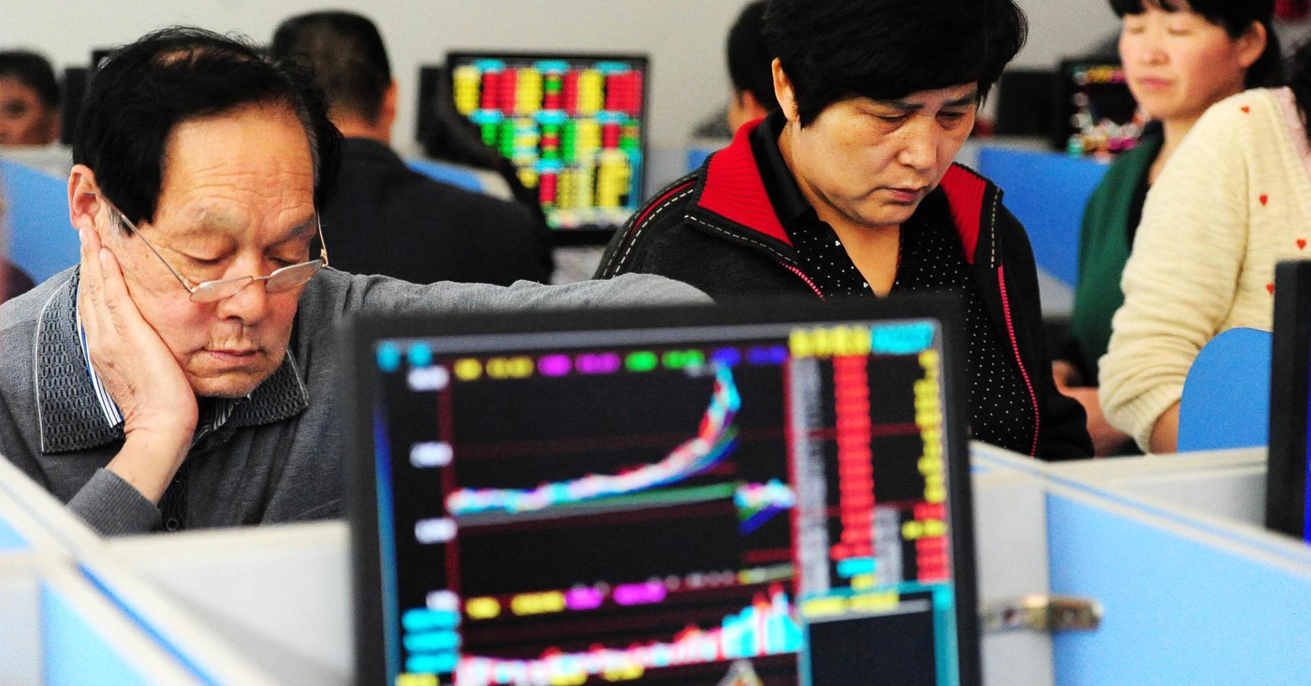 China stocks hit 7-year high, but where's the growth?
