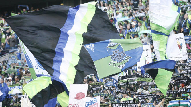 MLS: Vancouver Whitecaps at Seattle Sounders