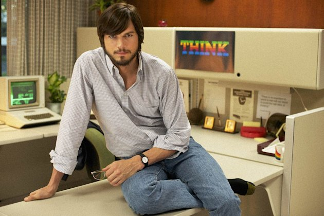 Ashton Kutcher stars as Apple creator Steve Jobs in the new biooic