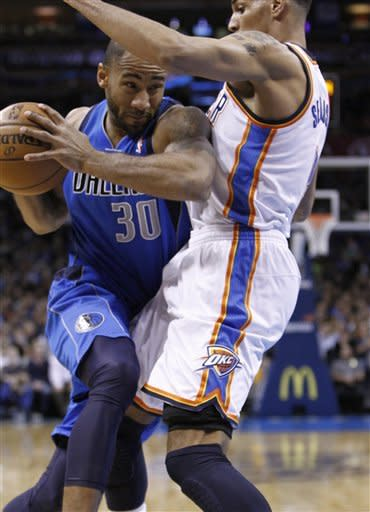Thunder scorch Mavericks 112-91