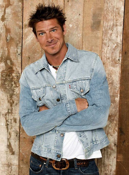 Carpenter Ty Pennington appears on ABC Television Network's Extreme Makeover: Home Edition