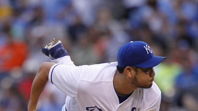 Chen quiets Red Sox as Royals win 5-1