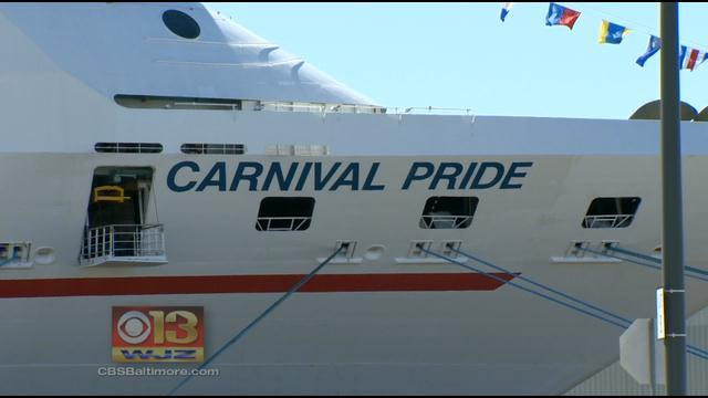 Carnival Cruise Ship Returns To Baltimore