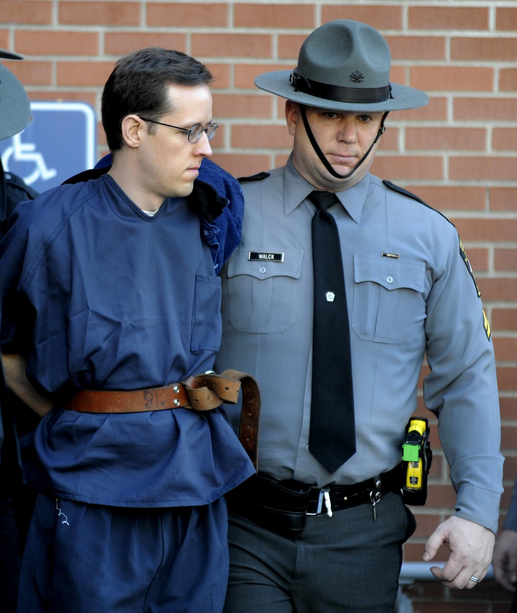 Survivalist pleads not guilty in trooper's ambush killing