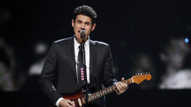John Mayer performs during the 2015 Rock and Roll Hall of Fame Induction Ceremony in Cleveland