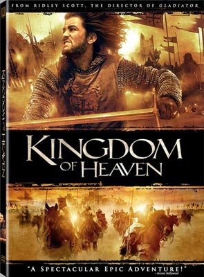 The box art from 20th Century Fox's DVD release of Kingdom of Heaven