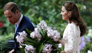 William Puji Gaun Kate Middleton di Singapura