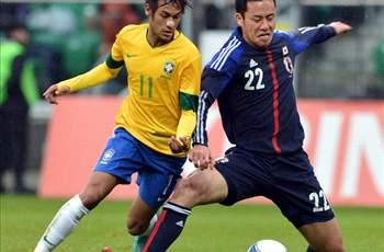 Japan 0-4 Brazil: Neymar and Kaka among scorers in stroll for Selecao
