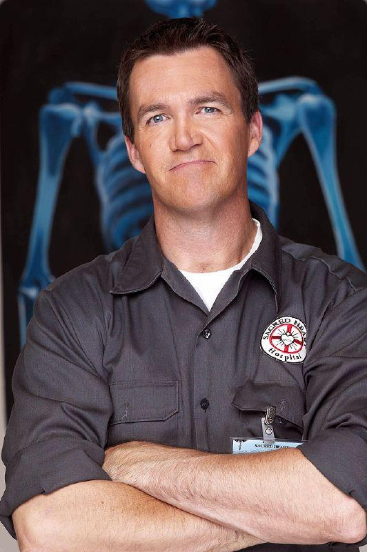 Neil Flynn as The Janitor on NBC's Scrubs