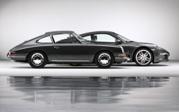 Fifty years of the Porsche 911.جندی شاپور البرز