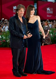 Al Pacino y Lucila Polak / Getty Images