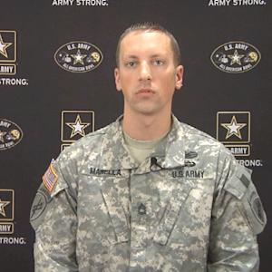 Army Sergeant First Class Jason Manella shares safety advice