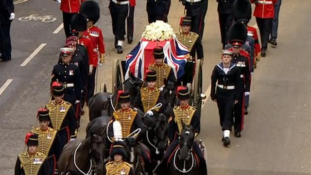 Margaret Thatcher funeral draws thousands
