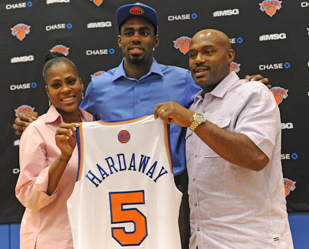 Knicks Hardaway Basketball