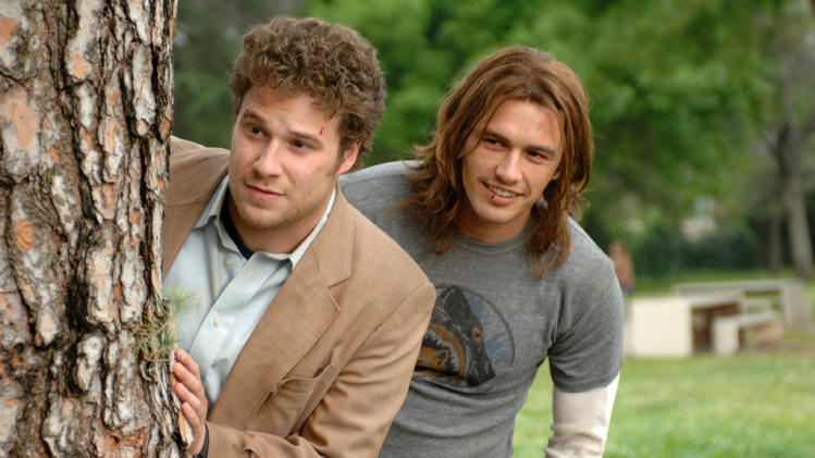Seth Rogen James Franco Pineapple Express Production Stills Columbia Pictures 2008