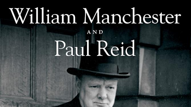 """This book cover image released by Little, Brown and Company shows """"The Last Lion: Winston Spencer Churchill: Defender of the Realm, 1940-1965"""", by William Manchester and Paul Reid. (AP Photo/Little, Brown and Company)"""
