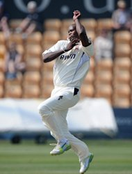 Former Essex seamer Lonwabo Tsotsobe excelled at Derby