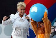 Brazil's children's television show host Xuxa (L) at the opening of the Live Earth concert in Rio de Janeiro in 2007. Xuxa has revealed that the late Michael Jackson wanted to marry her and that she had been sexually abused as a child