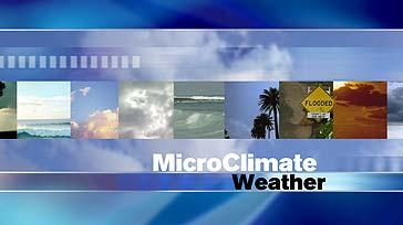 MicroClimate Forecast: Thursday, October 24, 2013 (Morning)