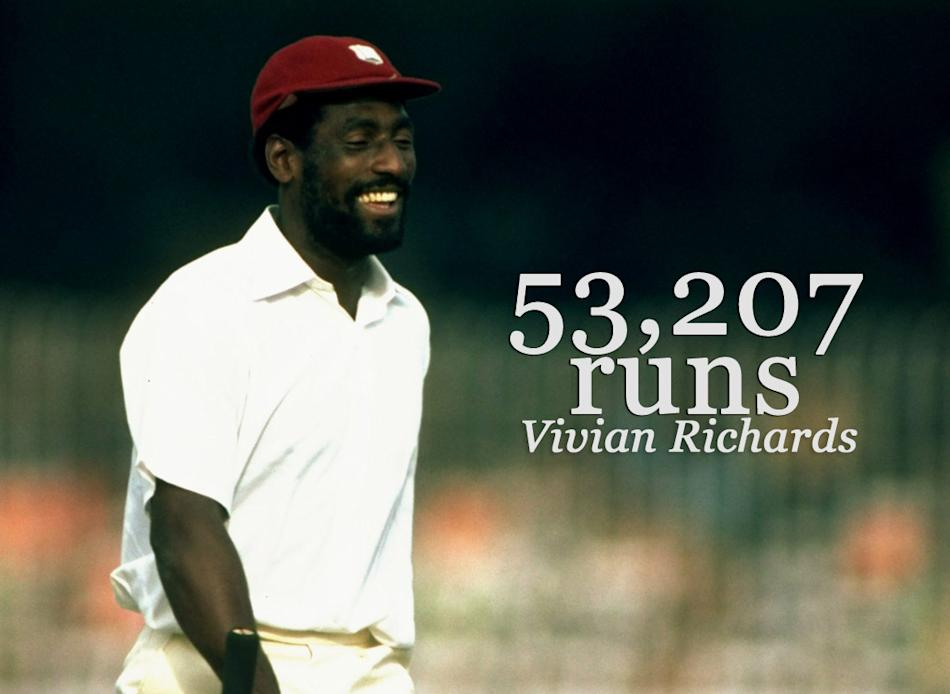 Vivian Richards (West Indies, Combined Islands, Glamorgan, Leeward Islands, Queensland, Somerset)
