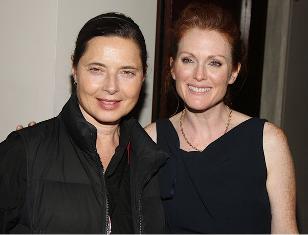 Blindess Screening 2008 NY Isabella Rossellini Julianne Moore