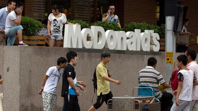 Chinese Not Lovin' Fast Food Meat Scandal