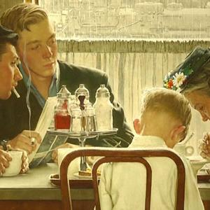 Rockwell's 'Saying Grace' Sets Auction Records