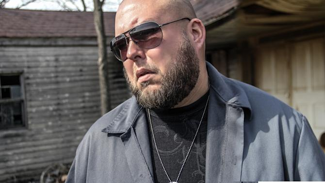 "This photo released by the A&E Network shows country rapper, Big Smo, who stars in the reality series, ""Big Smo."" Big Smo's show focuses on his friends, his family and their involvement in his growing music career. (AP Photo/A&E Network)"
