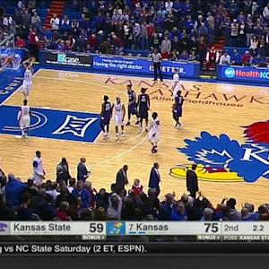 KU coach calls out player after this dunk