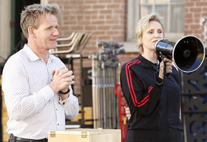 Gordon Ramsay and Jane Lynch …