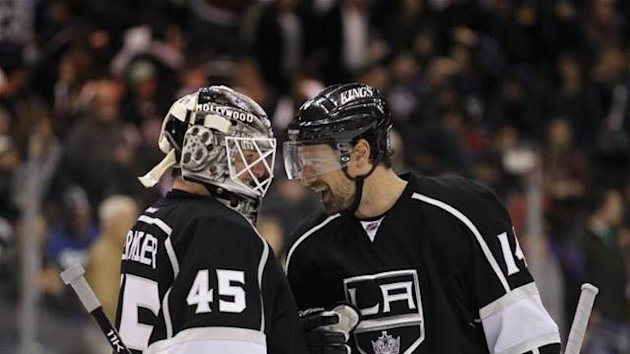 Jonathan Bernier Los Angeles Kings