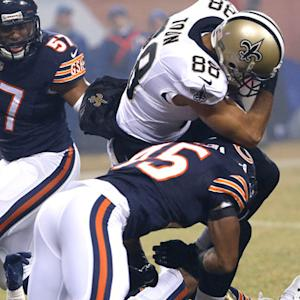 Chicago Bears recover fumble