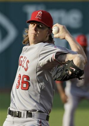 Weaver, Angels blank Indians 3-0