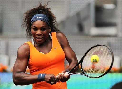 World number one Serena Williams could be playing in Singapore next year -- if she holds on to her ranking. (AP Photo)